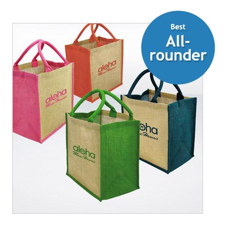 Branded Eco Jute Shopper Bag