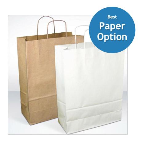 Eco String Handled Paper Carrier Bag