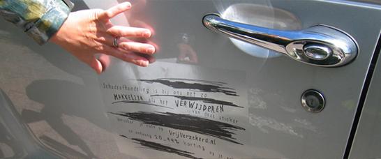 Novocortex Promotional Car Stickers