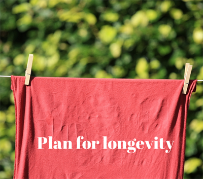 Plan for Longevity