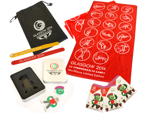 Branded Commonwealth Games 2014 Products