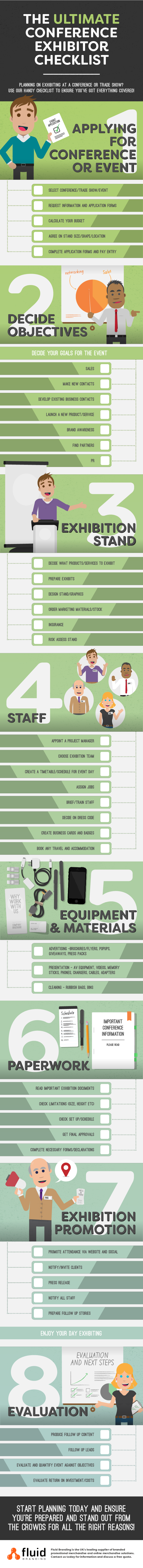 The Ultimate Conference Exhibitor Checklist