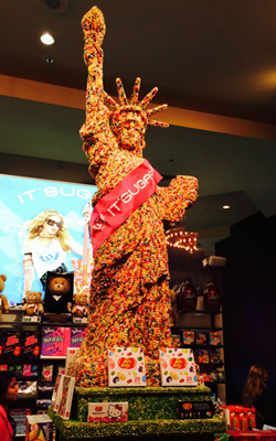 Statue of Liberty - Jelly Bean Style!