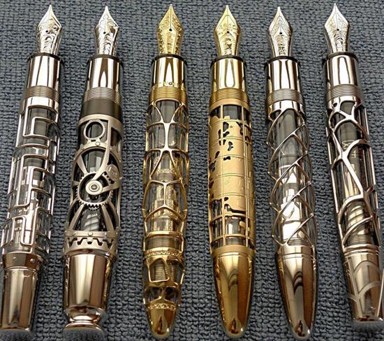 Inticately Designed Pens