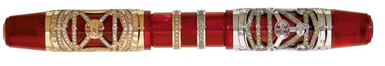 $57,000 Visconti Fountain Pen