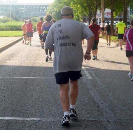 Fantastic Tshirt at the London Marathon