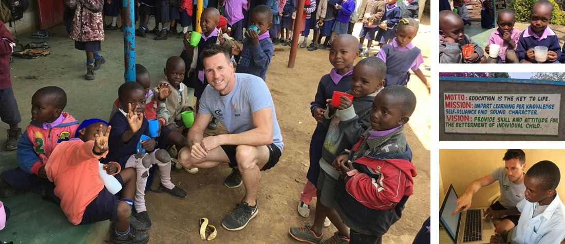 Matt's Volunteer Trip to Kenya