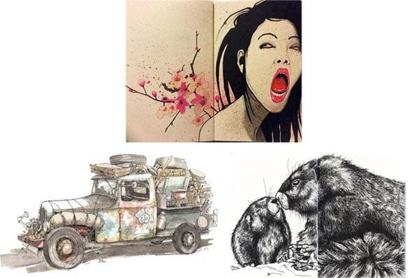 Moleskine Notebook Art