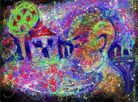 Digital Moleskine Notebook Art