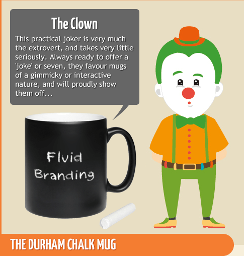 The Clown - Durham Chalk Mug