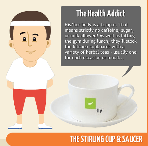 The Health Addict - Stirling Cup & Saucer