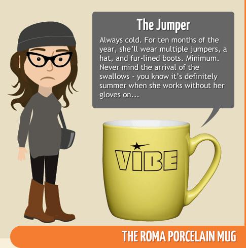 The Jumper - Roma Porcelain Mug
