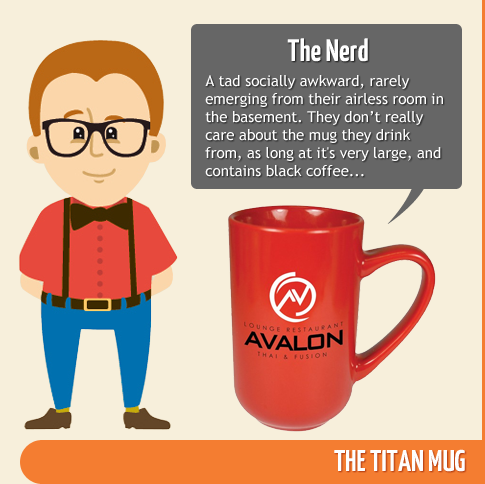 The Nerd - Titan Mug
