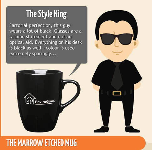 The Style King - Marrow Etched Mug