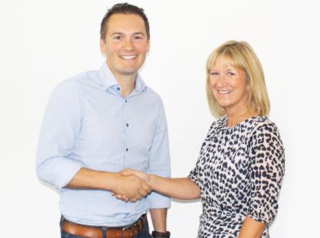 Fluid Branding Director Miles Lovegrove welcomes new Account Director Lisa Moore