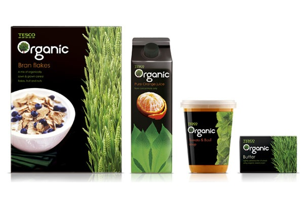Tesco Organic Range