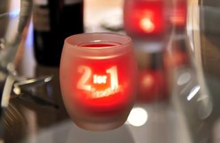 Branded Logo Candles