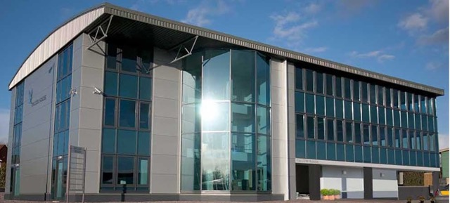 The new Fluid Branding office at Falcon Business Centre in Plymouth