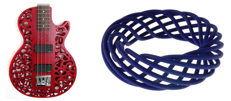 3D Printed Guitars and Jewellery