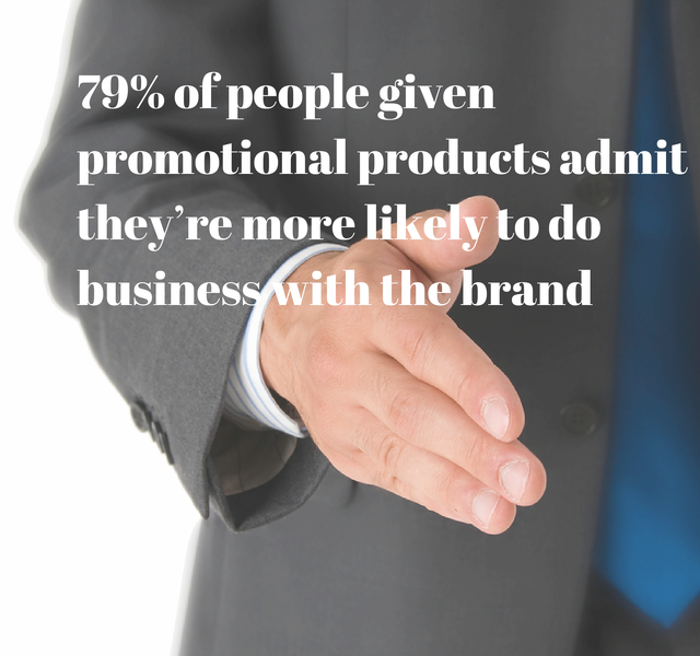 79% of People Given Promotional Products Admit They're More Likely to Do Business With the Brand