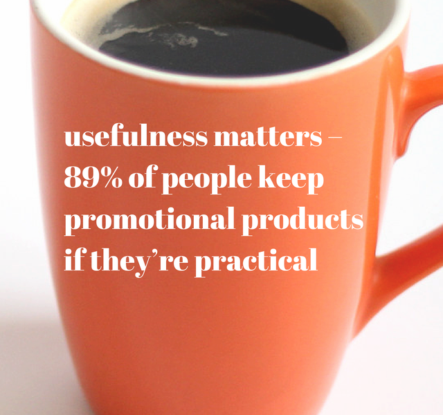 Usefulness Matters – 89% of People Keep Promotional Products If They're Practical
