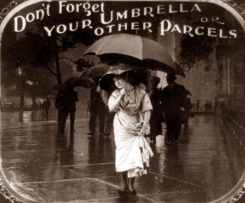 Early Umbrella advertisement