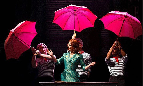 Kneehigh Theatre's adaptation of 'Umbrellas of Cherbourg'