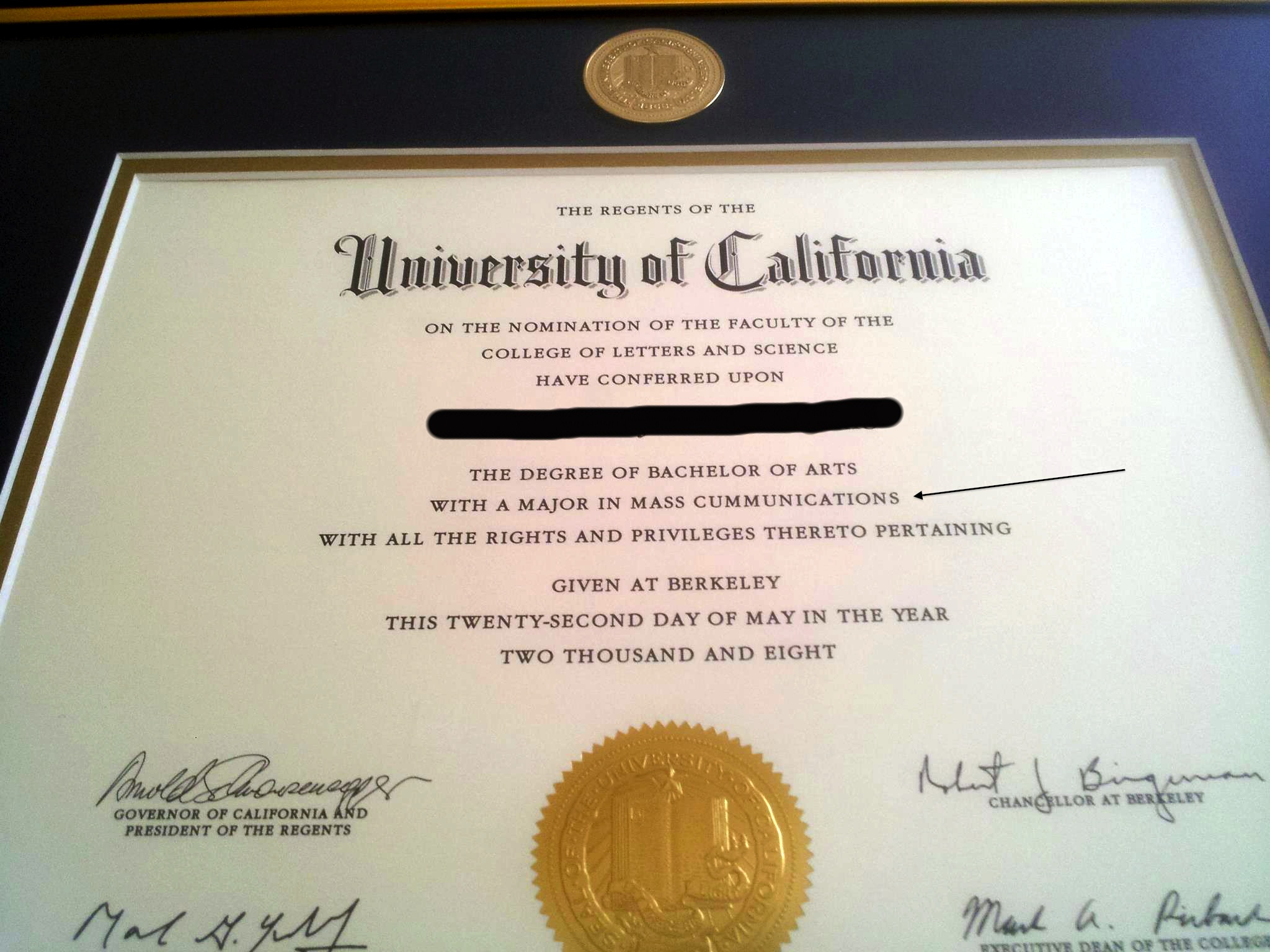 Diploma Typo