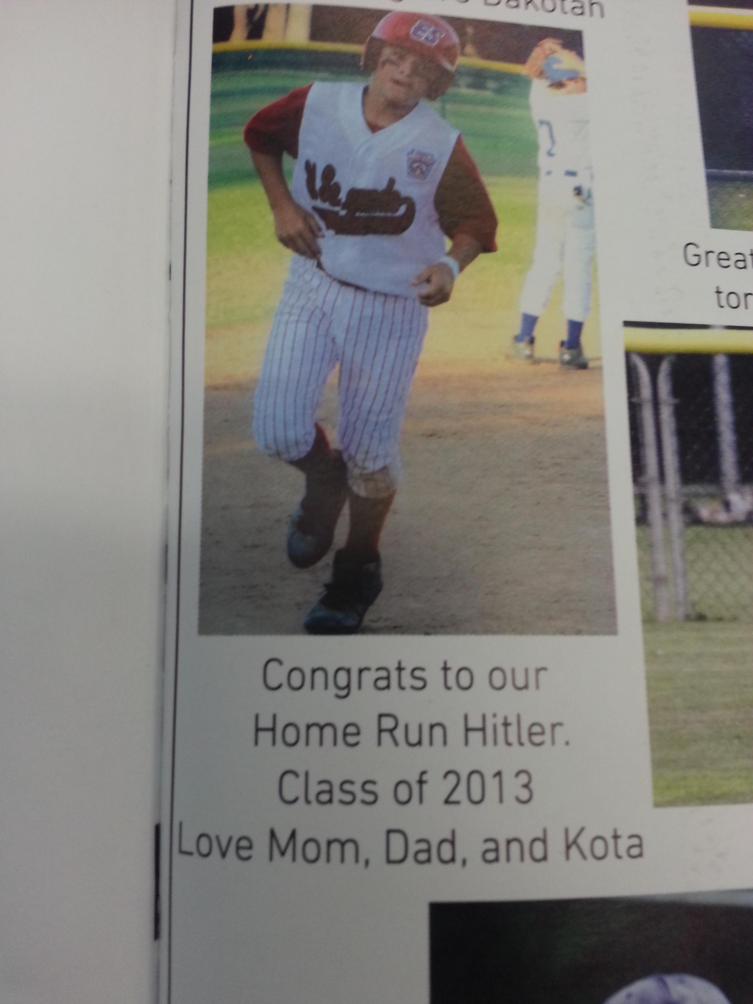 Home Run Hitler?
