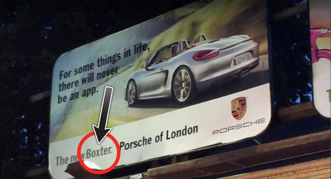 The Porsche Boxter