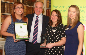 Children's Hospice South West Business Awards - Best Staff Engagement - 2013