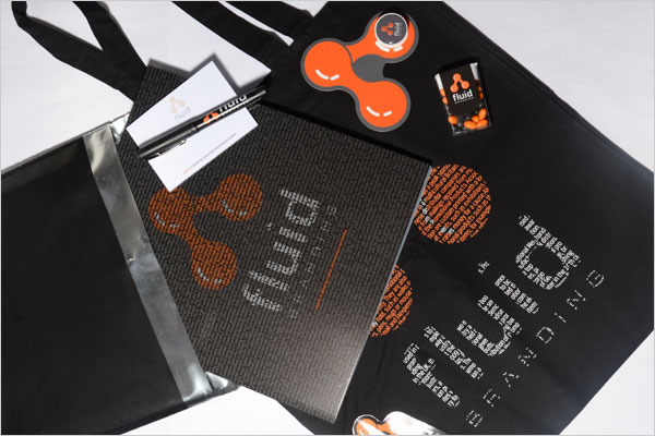 The Fluid Branding Promotional Products Brochure