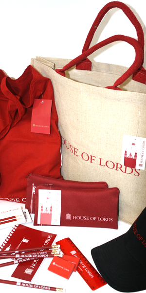 We now product a large percentage of the stock in the House of Lords shop...