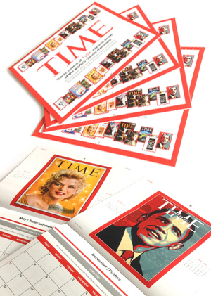 Bespoke Wall Calendars for Time Magazine