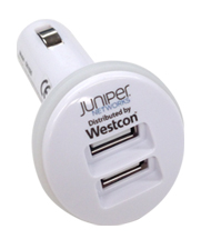Branded Mushroom Car Charger for Westcon Group