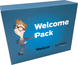 Bespoke Full Colour Presentation Box for Westcon Group