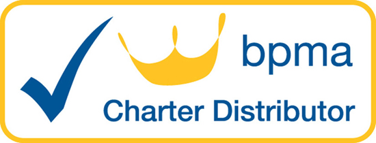 The BPMA Charter Distributor symbol