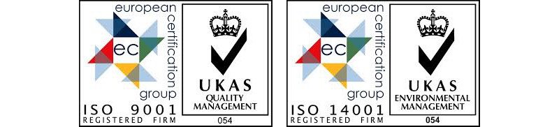 Fluid Branding Hold ISO 9001 and ISO14001 Certifications
