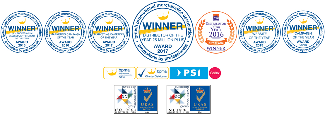 Award Badges for Fluid Branding