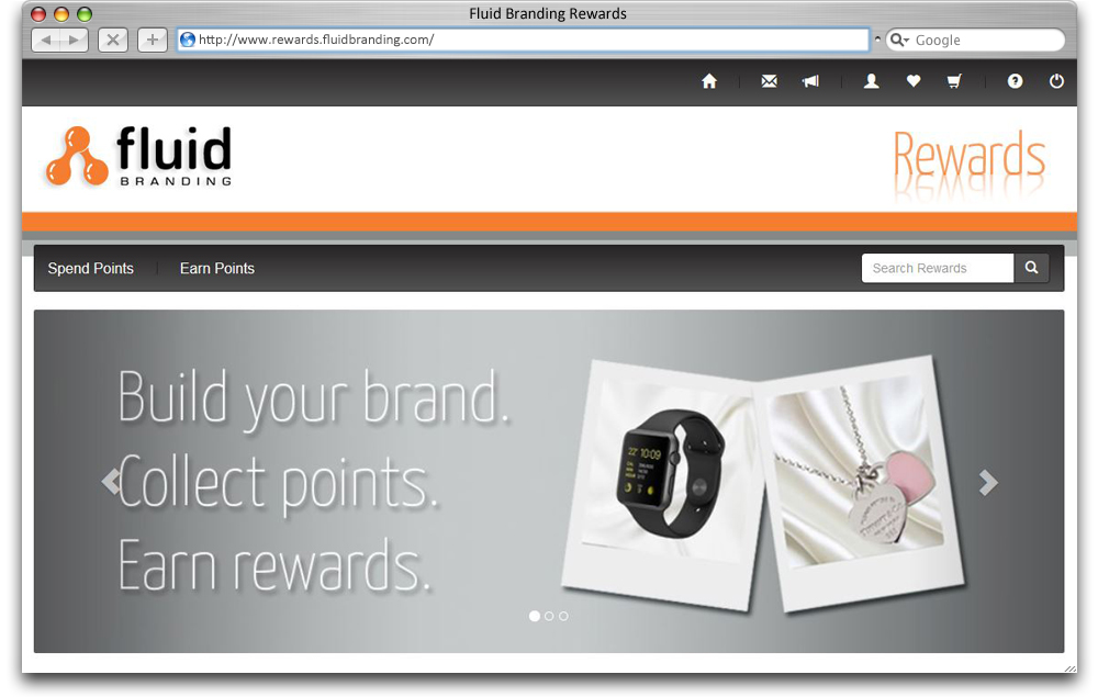 Fluid Branding Rewards