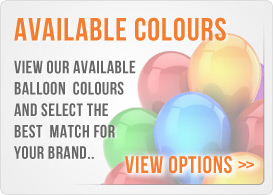 Balloon Colour Options