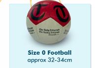 Size 0 Football