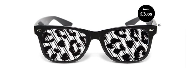Lens Print Sunglasses
