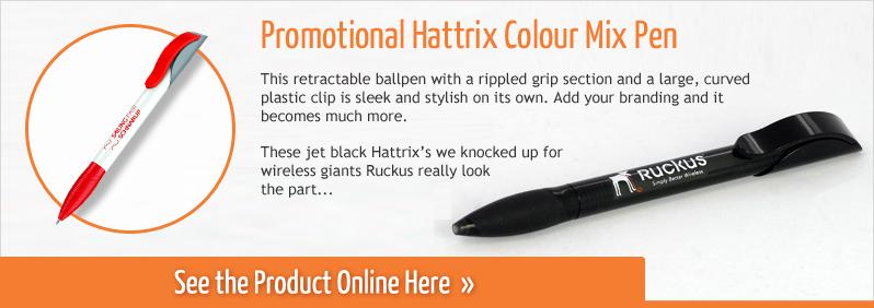 Promotional Hattrix Colour Mix Pen