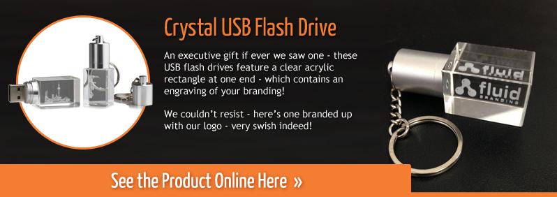 Crystal USB Flash Drive