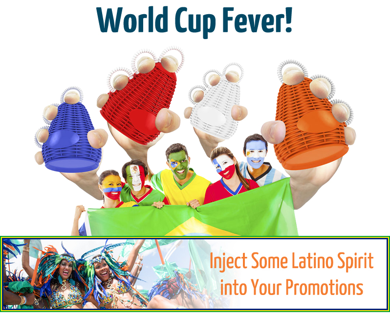World Cup Fever - inject some Latino Spirit into your Promotions!