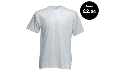 Valueweight T-Shirt - from £2.04