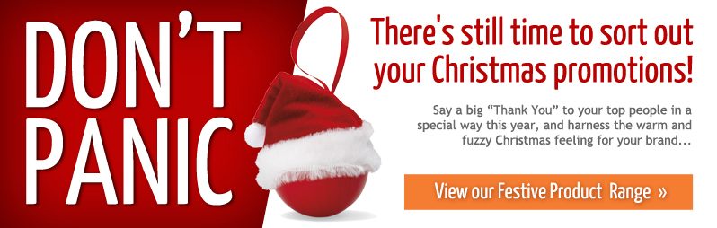 Don't Panic - there's still time to sort out your Christmas Promotions!