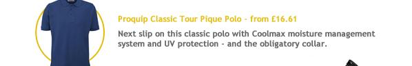 Proquip Classic Tour Pique Polo