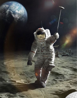 Golf on the Moon!